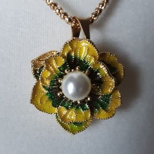 Betsey Johnson Necklace/Pin